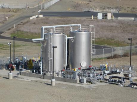 Biogas Enhancement Facility at Regional San's treatment plant