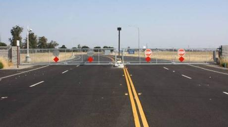 Dwight Road entrance for EchoWater construction traffic