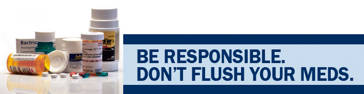 Image of Don't Flush Your Meds Microsite Banner