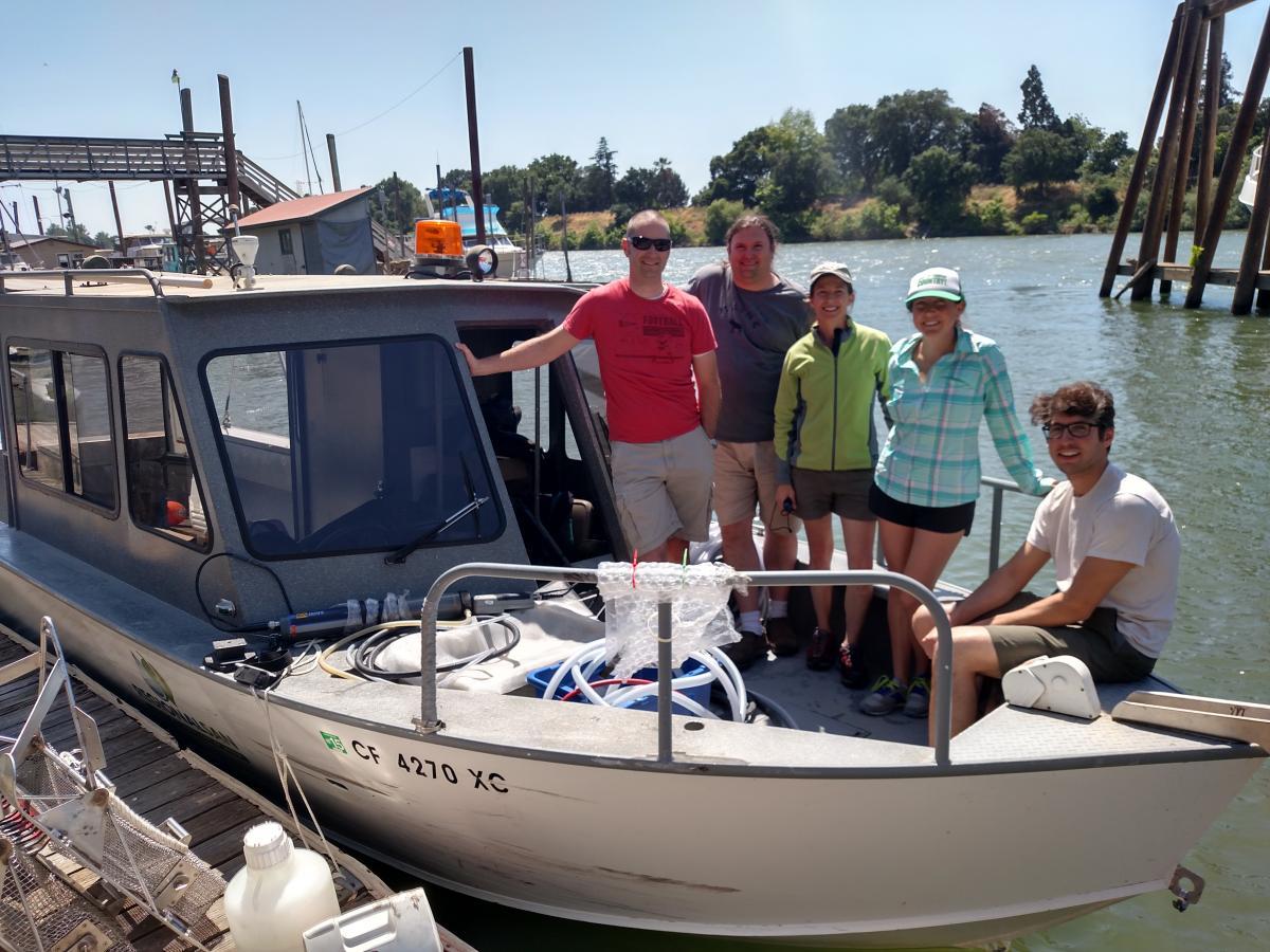 Sacramento River Phytoplankton Studies 2016 - Regional San