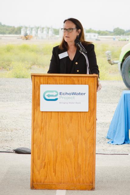 State Water Resources Control Board Chair Felicia Marcus